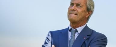 Vincent Bollore was charged in France last month in connection with the awarding of lucrative port concessions in Togo and Guinea.  By Zakaria ABDELKAFI (AFP/File)