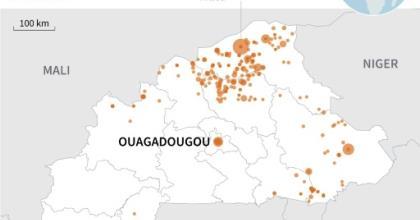 Violence in Burkina Faso.  By Maryam EL HAMOUCHI (AFP)