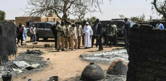 Malian Leader Vows Security As Massacre Toll Hits 160