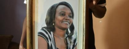 When Caroline Mwatha went missing, Amnesty International raised the alarm given her work lobbying against extra-judicial killings by police.  By SIMON MAINA (AFP)