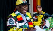 Zimbabwe President Emmerson Mnangagwa, pictured July 28, 2018, won 50.8 percent of the vote, ahead of nelson Chamisa of the opposition MDC part.  By Jekesai NJIKIZANA (AFP/File)