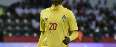 Zimbabwe striker Khama Billiat will be a key figure for South African club Kaizer Chiefs in a CAF Confederation Cup play-off against Zesco United of Zambia in Soweto this Saturday.  By KHALED DESOUKI (AFP)