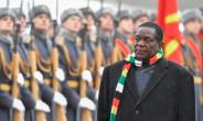 Zimbabwean President Emmerson Mnangagwa flew to Russia soon after announcing petrol prices would more than double.  By Alexander NEMENOV (AFP)
