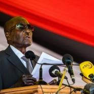 Zimbabwe's President Robert Mugabe lavished his sister-in-law with $60,000 on her birthday, a report said.  By Jekesai NJIKIZANA (AFP/File)