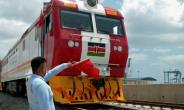 A new railway in Kenya is the nation's biggest infrastructure project since independence.  By ANDREW NGEA (AFP)