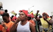 A coalition of 14 opposition parties has organised near weekly protests in Togo since August.  By Matteo FRASCHINI KOFFI (AFP/File)