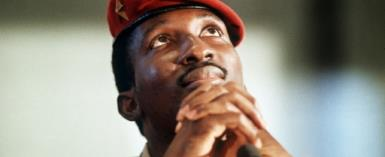 A revolutionary figure who is still a hero to many in west Africa, Thomas Sankara was killed on October 15, 1987, during the coup that brought Blaise Compaore to power.  By  (AFP/File)