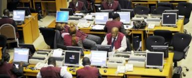 A surge in the oil price and a brighter economic outlook have boosted Nigeria's equity market.  By PIUS UTOMI EKPEI (AFP)