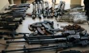 A total of 2,671 action pump rifles allegedly imported from Turkey have been seized in Lagos since January, according to the Nigeria Customs Service.  By Quentin Leboucher (AFP/File)