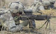 A US soldier taking part in training in Senegal last year.  By SEYLLOU (AFP/File)