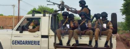 Burkina Faso is struggling with a bloody Islamist insurgency as well as bouts of social unrest.  By ISSOUF SANOGO (AFP/File)