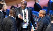 CAF vice-president Constant Omari says Congo Brazzaville is a candidate to host the 2019 Africa Cup of Nations.  By Yuri KADOBNOV (AFP/File)