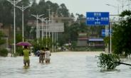China tops the list of new displacements due to disasters, with 7.4 million people driven from their homes.  By STR (AFP/File)