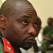 Congolese warlord Germain Katanga, pictured in February 2016, has been ordered to pay some reparations for