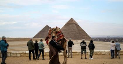 Egypt, where tourism is a key source of revenue, is suspending all flights from Thursday as it tries to stem the spread of the coronavirus.  By Mohamed el-Shahed (AFP/File)
