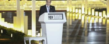 Egypt's President Abdel-Fattah al-Sisi addressed the controversial law, which has sparked fears of an intensified crackdown on civil society, at a youth forum on November 2, 2018, saying the law should