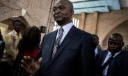 Emmanuel Ramazani Shadary, pictured at the official launch of his election campaign last month.  By John WESSELS (AFP)