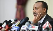 Ethiopia's Prime Minister Abiy Ahmed (pictured August 2018), who took office in 2015 and has dealt with many anti-government protests for his agressive reform agenda, has been almost unanimously re-elected.  By Michael Tewelde (AFP/File)
