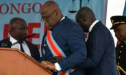 Felix Tshisekedi must negotiate numerous tough challenges -- notably a swathe of strikes -- as he treads a political tightrope following his hotly contested election.  By TONY KARUMBA (AFP/File)