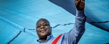 Felix Tshisekedi has been in charge of DR Congo's largest opposition party, the UDPS, for just two years.  By Luis TATO (AFP/File)