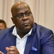 Felix Tshisekedi was elected in January.  By JOHN THYS (AFP/File)