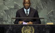 Former Ivory Coast President Laurent Gbagbo, pictured 2009, is the first-ever head of state to be handed over to the ICC and has been on trial since 2016 for his role in fomenting post-electoral violence in the west African nation.  By EMMANUEL DUNAND (AFP/File)