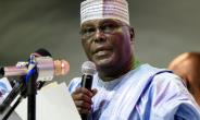 Former vice president Atiku Abubakar, a Muslim from Nigeria's north, was nominated last month as the main opposition party's candidate to challenge incumbent Muhammadu Bahari.  By PIUS UTOMI EKPEI (AFP)