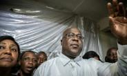 Félix Tshisekedi, 55, at his party headquarters in KInshasa the night his provisional election victory was announced on January 10, 2019..  By Caroline Thirion (AFP/File)