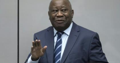 Gbagbo faced charges of crimes against humanity over the 2010-2011 bloodshed.  By Peter Dejong (ANP/AFP/File)