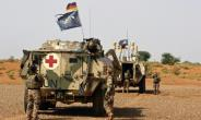 German troops in Mali, where a night-time firefight with Malian allies left one soldier seriously wounded.  By SEYLLOU (AFP/File)