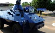 A police armoured car patrols in Accra on December 9, 2012.  By Pius Utomi Ekpei (AFP/File)