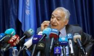 Ghassan Salame, UN special envoy for Libya and head of the UN Support Mission in Libya (UNSMIL), speaks during a news conference in the capital Tripoli.  By MAHMUD TURKIA (AFP)