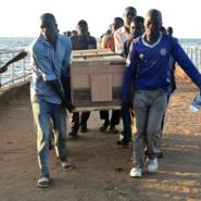 Hopes were fading of finding any more survivors by day three of the search effort.  By Casmir ODUOR (AFP)
