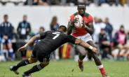 Humprey Kayange captained  Kenya's sevens team against the toughest opposition.  By PHILIPPE LOPEZ (AFP/File)