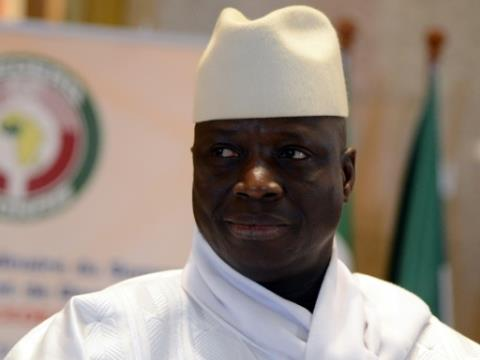 Jammeh flew into self-imposed exile in Equatorial Guinea -- whether he will eventually be put in the dock is far from certain.  By ISSOUF SANOGO (AFP/File)