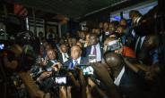 Jean-Pierre Bemba returned to launch his bid for the presidency after 11 years abroad -- a decade of it behind bars.  By Junior D. KANNAH (AFP)