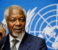 Kofi Annan is widely credited for raising the United Nation's profile in global politics.  By SEBASTIEN BOZON (AFP/File)