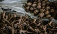 Macabre finds from the Rwandan genocide are still being uncovered today, nearly a quarter-century after the bloodshed. In April, a mass grave was found under a building in Kabuga, on the outskirts of the capital Kigali..  By Yasuyoshi CHIBA (AFP)