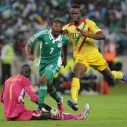 Nigeria forward Ahmed Musa scores during the Africa Cup of Nations semi-final against Mali on February 6, 2013.  By Alexander Joe (AFP/File)