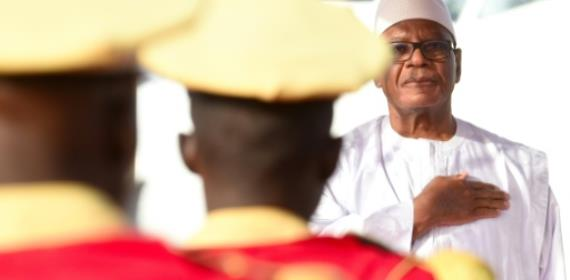 Malian leader vows security in visit to massacre village