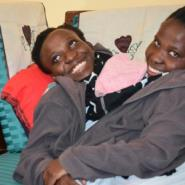 Maria and Consolata Mwakikuti enjoy knitting and cooking together.  By Mwazarau Mathola (THE RUAHA CATHOLIC UNIVERSITY/AFP/File)