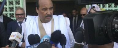 Mauritanian President Mohamed Ould Abdel Aziz has said he will not run for a third term.  By AHMED OULD MOHAMED OULD ELHADJ (AFP/File)