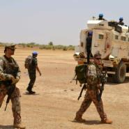 MINUSMA is the UN's second largest peacekeeping force in the world.  By Souleymane AG ANARA (AFP/File)