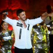 Moroccan activists have launched a social media campaign to ban pop star Saad Lamjarred from the kingdom's radio stations after he was arrested in France last month on a third rape charge.  By FETHI BELAID (AFP/File)