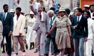 Most of Winnie Mandela's 38-year marriage to Nelson was spent apart, leaving her to raise their two daughters alone as she kept his political dream alive.  By TREVOR SAMSON (AFP/File)