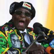 Mugabe was forced to quit when the military stepped in and ruling ZANU-PF lawmakers launched impeachment proceedings against him..  By ZINYANGE AUNTONY (AFP/File)