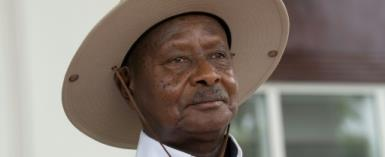 Museveni has been in power for more than 30 years.  By Michele Sibiloni (AFP/File)