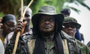 Museveni said he had 'never stepped into the kitchen' in 45 years.  By Isaac Kasamani (AFP/File)