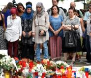 Muslims joined fellow residents of Barcelona to mourn the victims from Thursday's terror attack. But some fear the bloodshed has sown the seeds of islamophobia.  By LLUIS GENE (AFP)