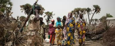 Nigeria is facing widespread unrest, from Boko Haram's Islamist insurgency in the northeast to a resurgence of violence in a long-running dispute over land and resources in central states.  By FLORIAN PLAUCHEUR (AFP/File)